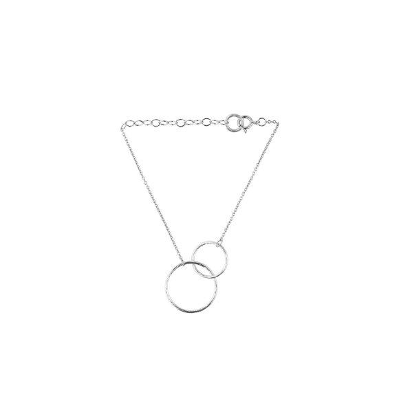 Double Plain Bracelet 15-18 Cm | Sølv Fra Pernille Corydon