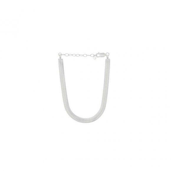 Edith Armbånd Adjustable 15-18 Cm | Sølv Fra Pernille Corydon