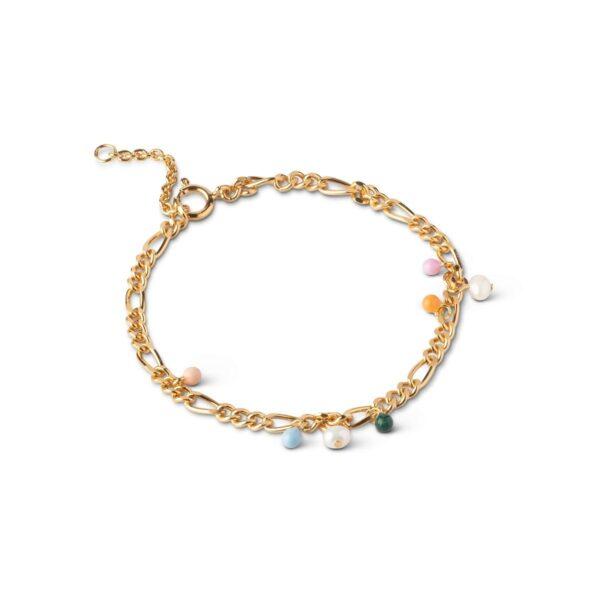 Enamel Willa armbånd - Guld