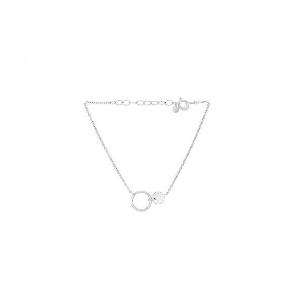 Eon Armbånd Adjustable 15-18 Cm | Sølv Fra Pernille Corydon
