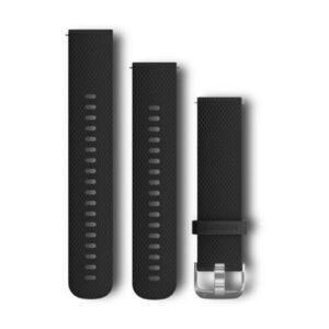 Garmin - Quick Release urrem i sort silikone - 20mm