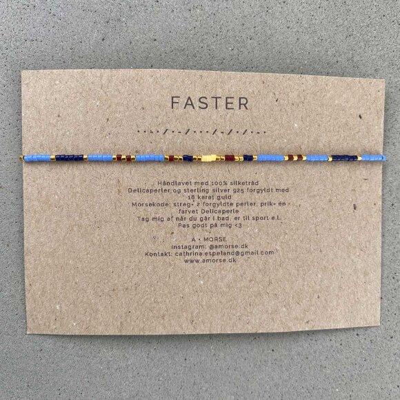 Håndlavede Armbånd   Faster Fra A Morse