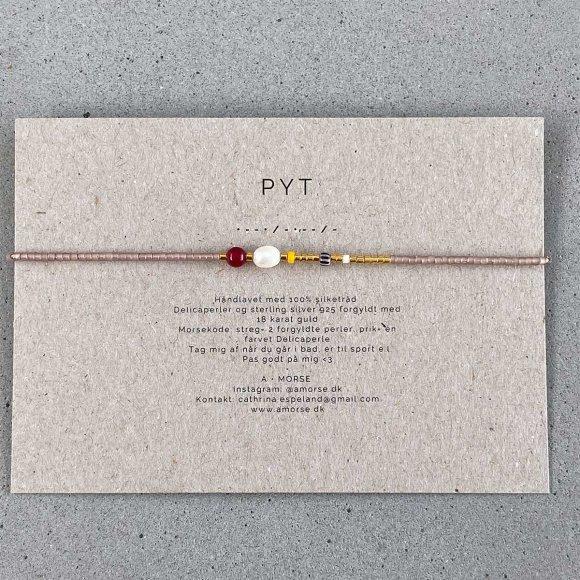 Håndlavede Armbånd   Pyt Fra A Morse