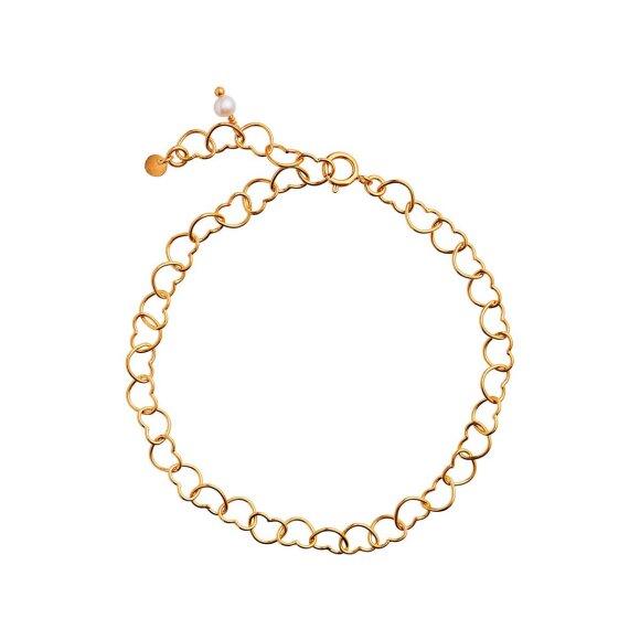 Happy Hearts Bracelet   Forgyldt Fra Stine A