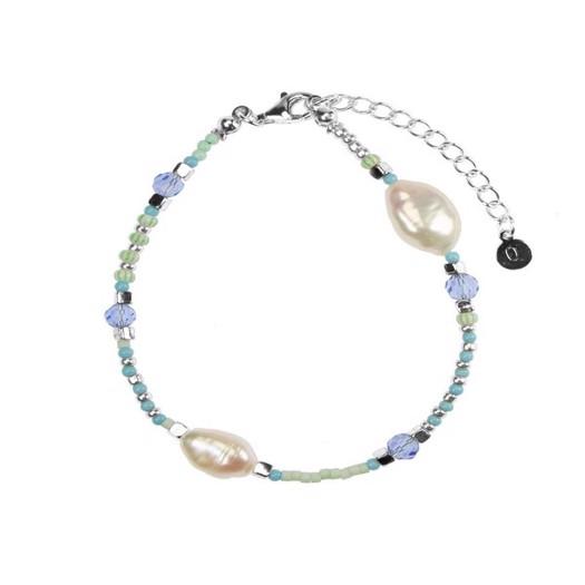 Hultquist - Ocean armbånd i sølv med 2 perler