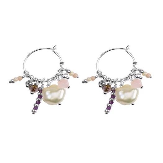 Hultquist - Ophelia øreringe i sølv med perler