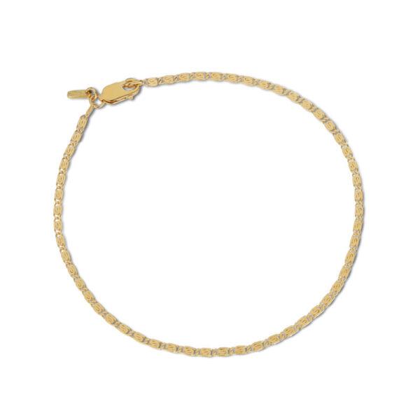 Jane Kønig Envision S Chain Armbånd Guld (Stor)