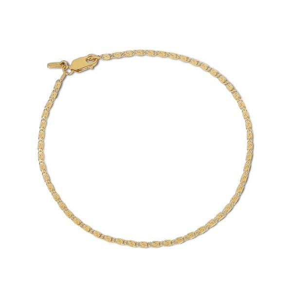 Jane Kønig - Envision S-chain armbånd i forgyldt sølv
