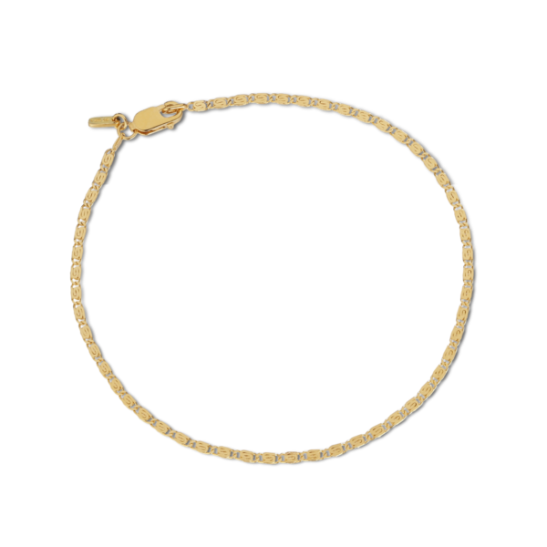Jane Kønig Envision s chain bracelet Armbånd, Guld - L