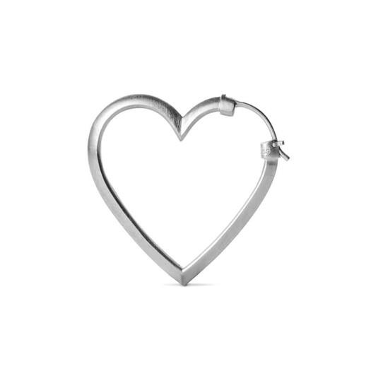 Jane Kønig - Heart Of Love øreringe i sterlingsølv