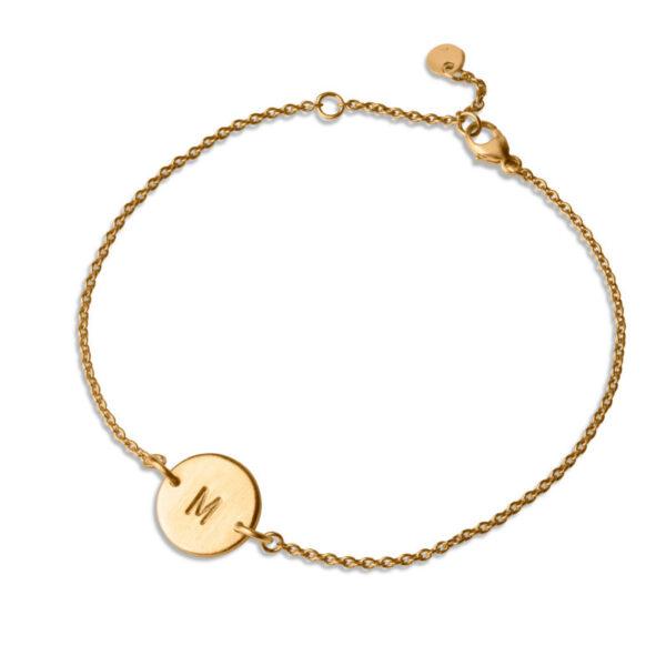 Jane Kønig Love Tag Armbånd Guld (A)