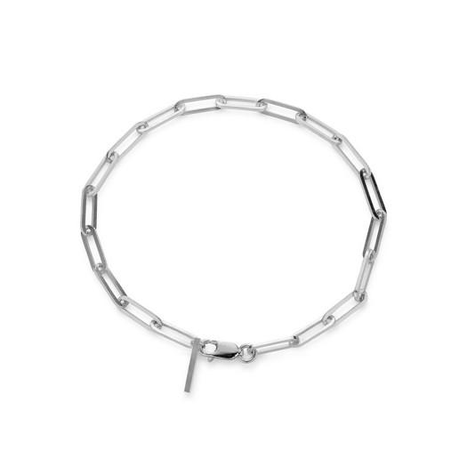 Jane Kønig - Reflection Stretch armbånd i sølv