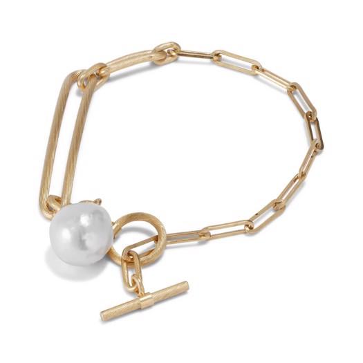 Jane Kønig - Salon Pearl armbånd i forgyldt