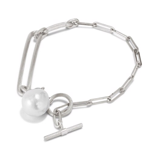 Jane Kønig - Salon Pearl armbånd i sølv
