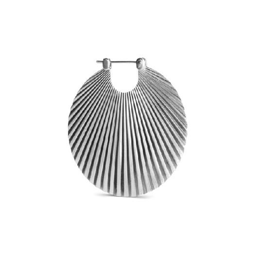 Jane Kønig - Shell øreringe i Mat sølv