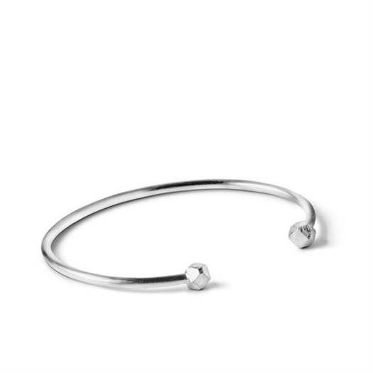 Jane Kønig - Simple Bead armbånd i sølv**