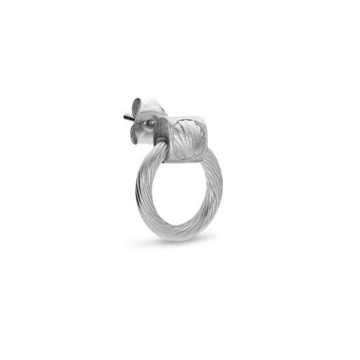 Jane Kønig - Small Salon Knocker ørering i sølv