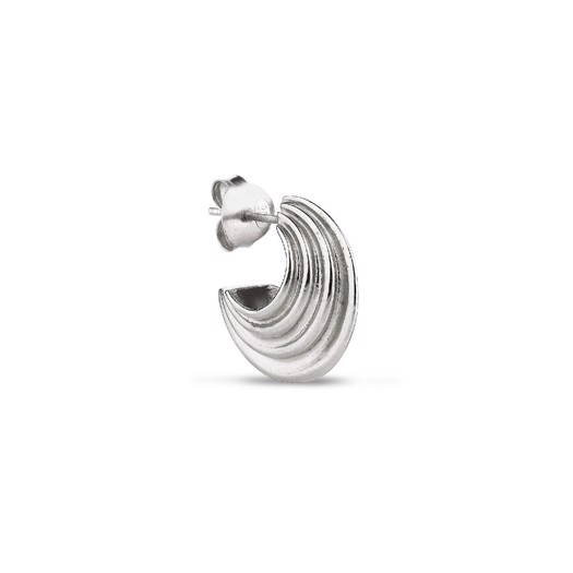 Jane Kønig - Small Sculpture Earring Sterlingsølv