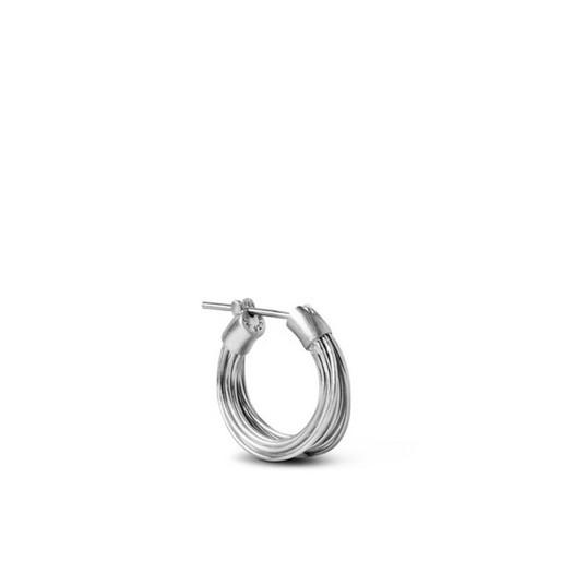 Jane Kønig - Small Wire Øreringe i Sølv**