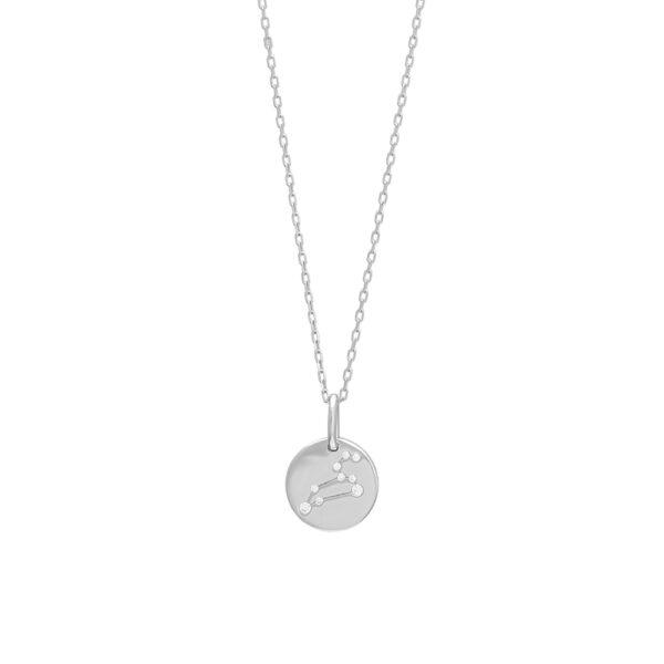 Joanli EstelNor sølv Løve stjernetegn halskæde