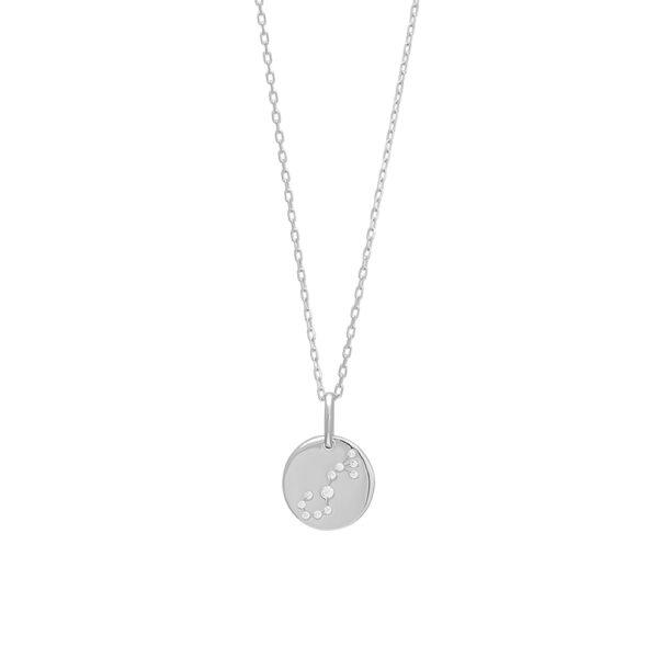 Joanli EstelNor sølv Skorpion stjernetegn halskæde
