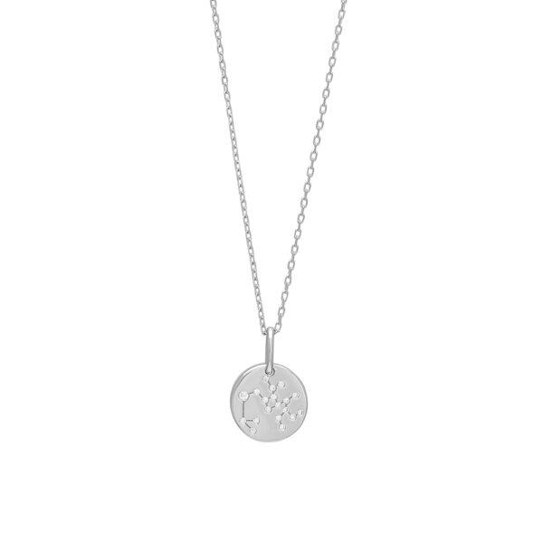 Joanli EstelNor sølv Skytte stjernetegn halskæde