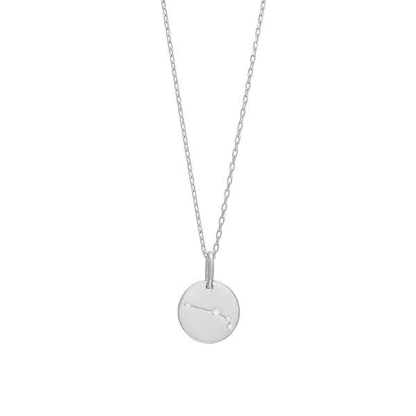 Joanli EstelNor sølv Vædder stjernetegn halskæde