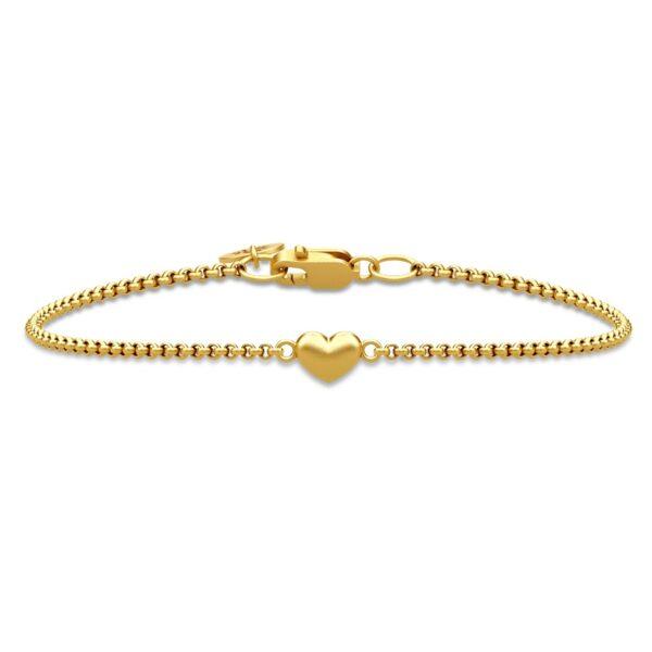 Julie Sandlau Classic, Love armbånd i forgyldt