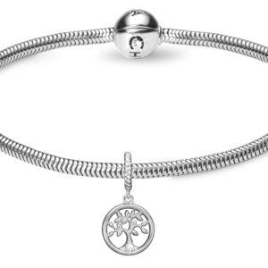 Kampagne Valentine Diamond Tree of Life sølv - 615-VAL.2019-S 18 centimeter