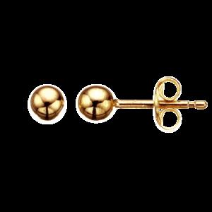 Kugle 8 Karat Guld Ørestikker fra Scrouples 9363
