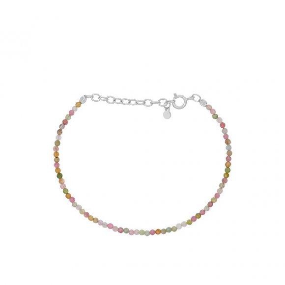 Light Rainbow Armbånd Adjustable 15-18 Cm | Sølv Fra Pernille Corydon
