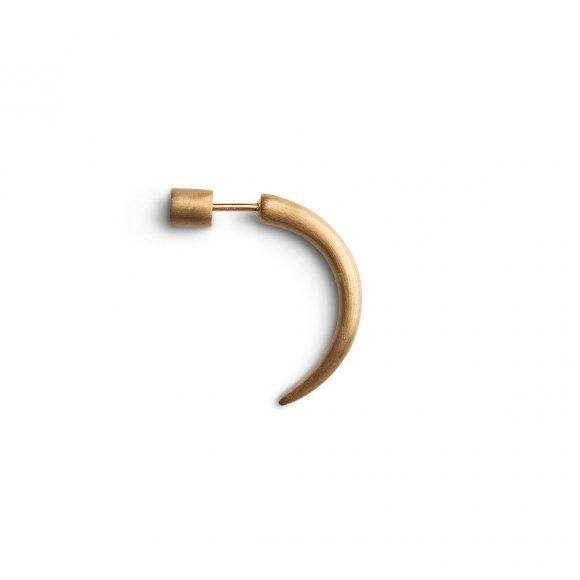 Lille Hornørering 1 Stk | Forgyldt Fra Jane Kønig