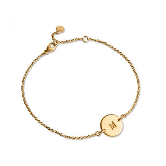Lovetag Bracelet | Forgyldt Fra Jane Kønig