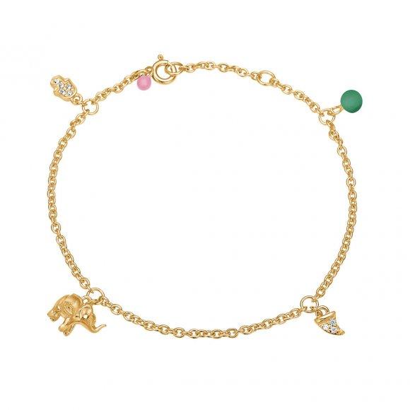 Lucky Charms Bracelet   Forgyldt Fra Enamel Copenhagen