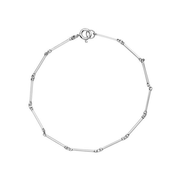 Lund Copenhagen Pind sølv armbånd, 19 cm