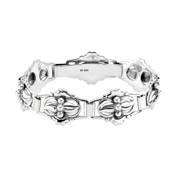 Lund Copenhagen sølv armbånd i klassisk design, 18,5 cm