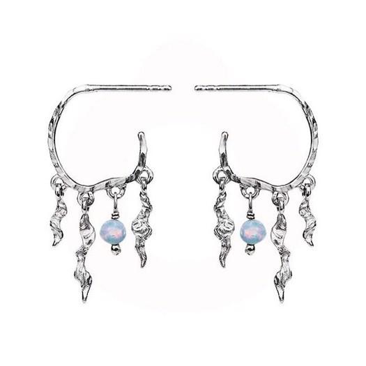 Maanesten - Bayou øreringe i sølv