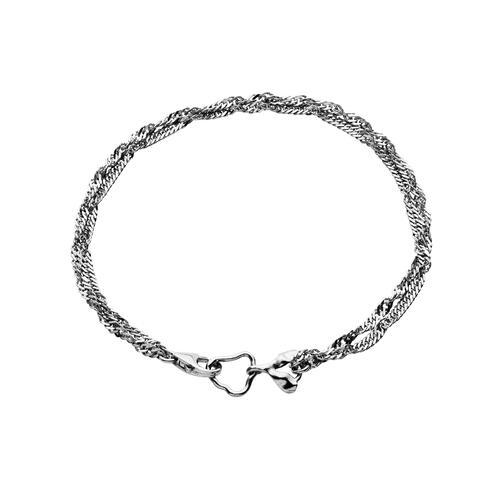 Maanesten Canna armbånd - sølv