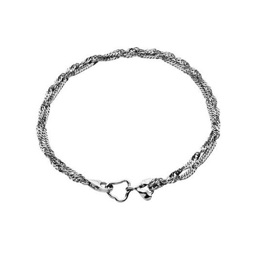 Maanesten - Canna dobbelt armbånd i sølv