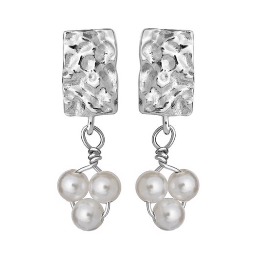 Maanesten - Iona øreringe i sølv