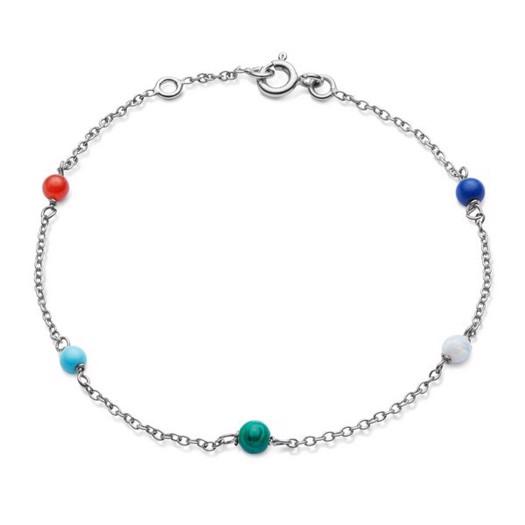Maanesten - Marina armbånd i sølv