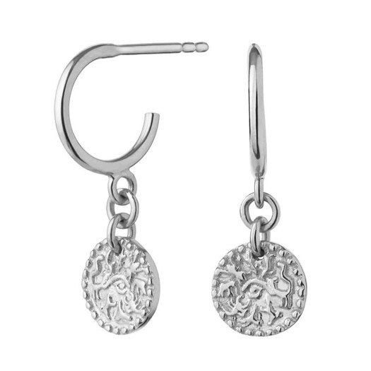 Maanesten - Mathilde øreringe i sølv
