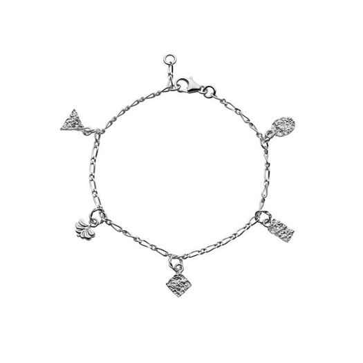 Maanesten - Risco armbånd i sølv