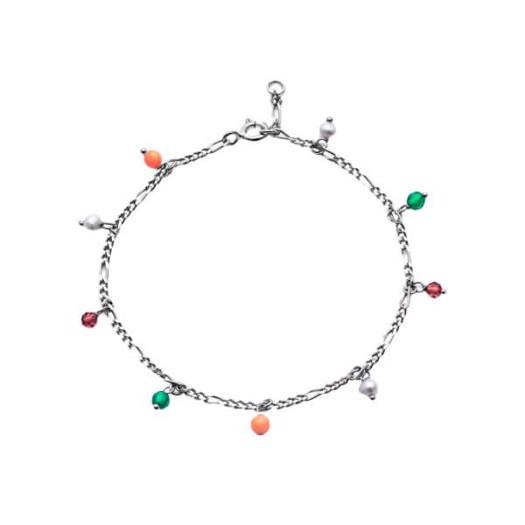 Maanesten - Salma color armbånd i sølv