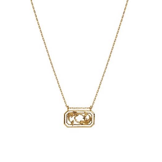 Maanesten - Zodiac halskæde med stjernetegn - Fiskene