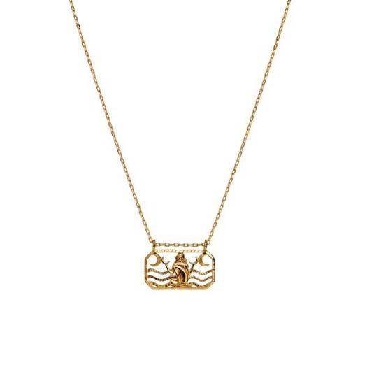 Maanesten - Zodiac halskæde med stjernetegn - Krebsen