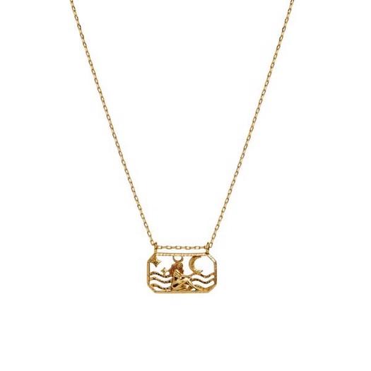 Maanesten - Zodiac halskæde med stjernetegn - Tyren