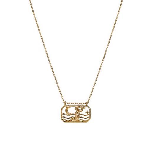 Maanesten - Zodiac halskæde med stjernetegn - Vædderen