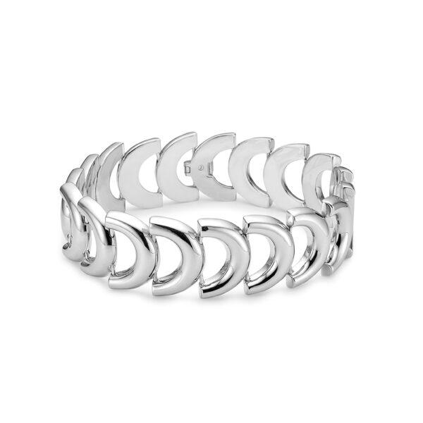 Mads Z Art Deco sølv armbånd