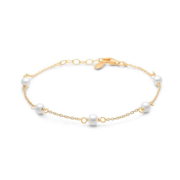 Mads Z STUDIO forgyldt armbånd med perler